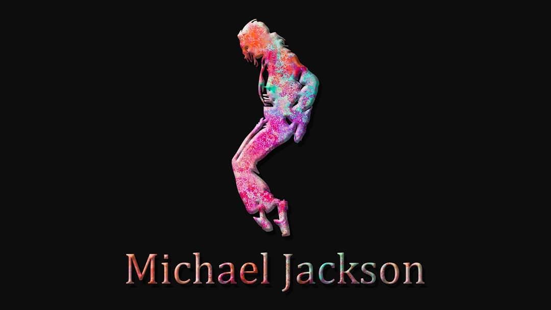نقاشی و لوگوی Michael Jackson مایکل جکسون